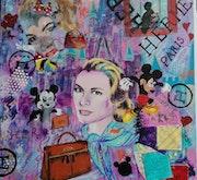 Kelly, princesse et égérie Hermes. Nadia Barsky