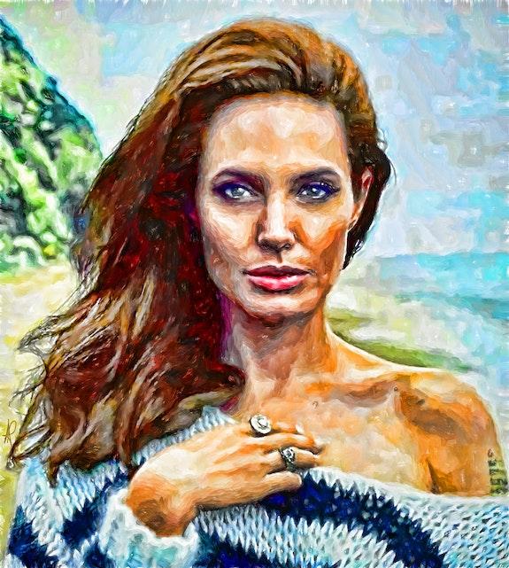 Angelina. Ani Plankova Artlands