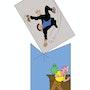 Tintin & le capitaine Haddock. Jérôme Jacob