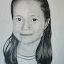 Amanda Rincón Retrato Infantil. José Manuel Martos Cabrales