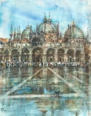 Place St. Marc inondée.