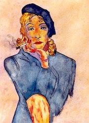 4- Marlene en «Mujer Fatal». Marlene Dietrich.. Carmen Luna
