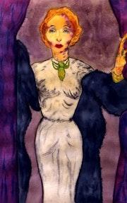 23- Marlene en Las Vegas. Marlene Dietrich..