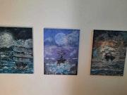En pleine tempête. La Pleiade d'art