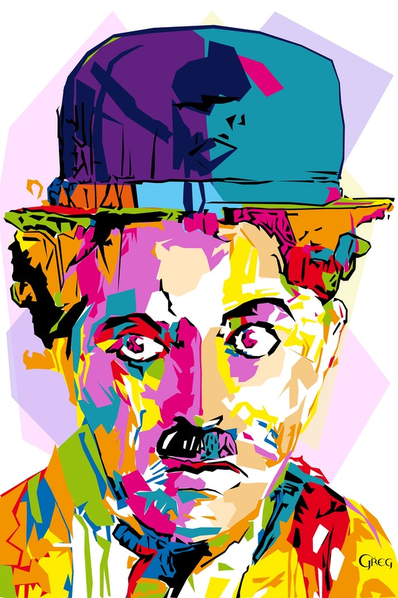 Charlie Chaplin Pop. Greg Greg