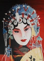 La beauté du geisha.