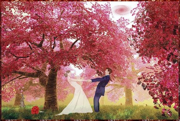 La danse de mariage. Harald Dastis