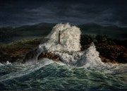 Storm on the sea. Agasieva Annette