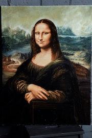 Mona Lisa (Joconda) Da Vinci reproduction.