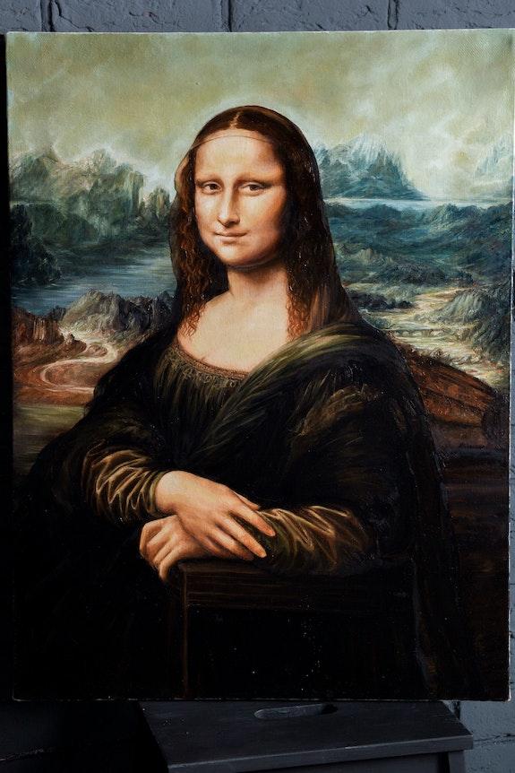 Mona Lisa (Joconda) Da Vinci reproduction. Agasieva Anna Agasieva Annette