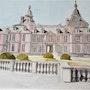 Château de Modave. Πr Dessins