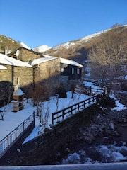 Nieve en el Cartel, Lugo.