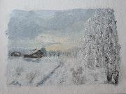 Winterlandschaft. Andrea Meklenburg - Saß