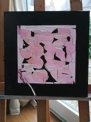 Série Petits formats : Rose de Noir. Marygor