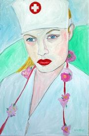 L'infirmiere. Nathalie Vareille Sorbac