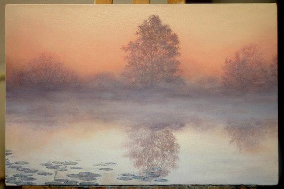 Foggy morning. Agasieva Anna Agasieva Annette