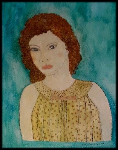 La robe aux petits pois. Anne Bazabidila Anne. B