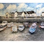 The Harbour West Bay England. David Fitch