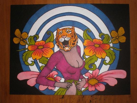 Tiger girl. Suro Suro