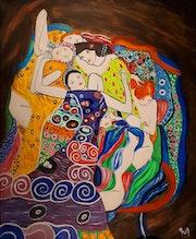 Les vierges de Klimt à ma façon.