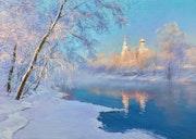 Воскресное утро зимой. Игорь Сахаров