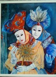 Le carnaval de Venise. Mioara Gaubert
