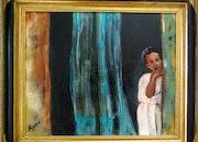 Petite fille africaine. Mioara Gaubert