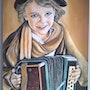 Peinture a l'huile sur toile de 41 X 59 cm de Henry prost artiste coté. Prost's Art