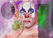 Clown triste qui est en train de se changer (2021).