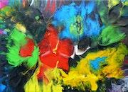 Pich'magic abstract art n°128. Pich