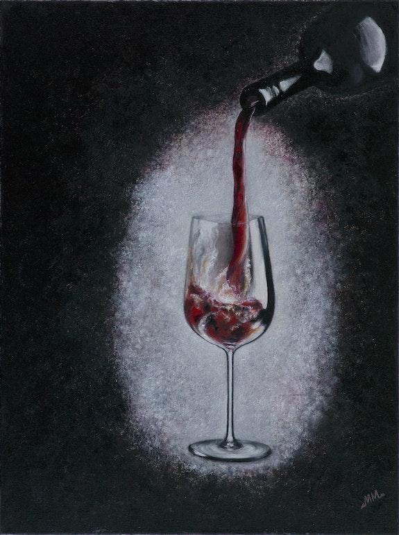 Red wine. Mila Moroko Mila Moroko