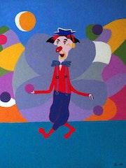 Le clown. Patrick Lefevre