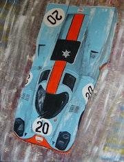Porsche Gulf.