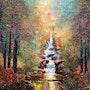 Enchanted Falls. Halvorsen Fine Art