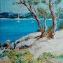 Vue sur le lac. Mioara Gaubert