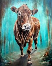 Limousin Kuh.