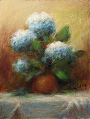 Miniatura: Bodegón flores de mundo.