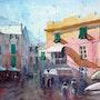 Dans les ruelles de Monterosso. André Méhu