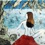 A la sombra en la playa. Ingrid Ohayon