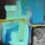 Landscape ultramarine. Mag