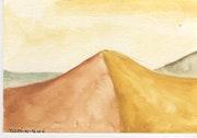 Dune, die Wüste.