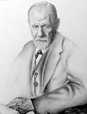 Portrait de Sigmund Freud. Claudio Ducale