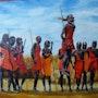 Los Maasai. Christian Pacaud
