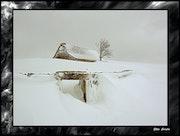 Buron in the Aubrac plateau in Lozere.