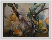 Ein Zweig der Zitrone. Monique Martin