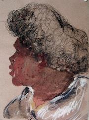 Vanuatu Zeichnung. Sophie De Garam