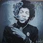 Jimi Hendrix. B. Hocine