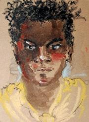 Vanuatu drawing. Sophie De Garam
