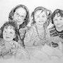 Four grandchildren. Catherine Wernette