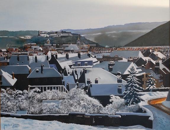 Winter Besancon Doubs Frankreich. Jean-Claude Jeannin Jean-Claude Jeannin